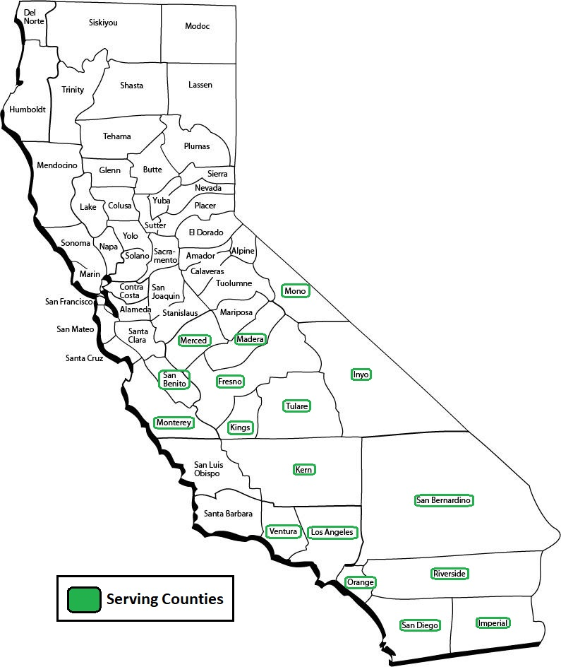 Serving Counties Image